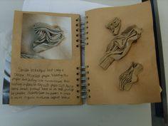 sketchbook, paper experiments
