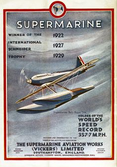 From a poster in the National Railway Museum collection airplane art poster Vintage Advertisements, Vintage Ads, Vintage Posters, Vintage Room, National Railway Museum, Air Festival, Airplane Art, Flying Boat, Bd Comics