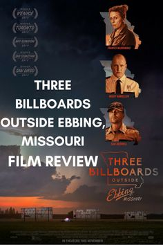#ThreeBillboardsOutsideEbbingMissouri #ThreeBillboards    Three Billboards Outside Ebbing, Missouri is a black comedy crime film written and directed by Martin McDonagh. The film starts Abbie Cornish, Peter Dinklage, Lucas Hedges, John Hawkes, Sam Rockwell, Woody Harrelson and Frances McDormand.    #FilmReview #MovieReview #Film #Movie #Review #Oscars #Oscars2018