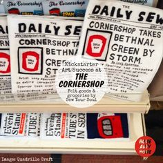 THE CORNERSHOP @SewYourSoul - @HomeArtyHome