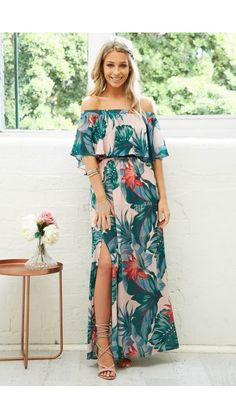 PRE ORDER Barbados 3 Way Maxi Dress *Delivery date approx OCT