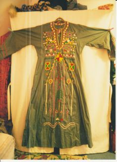 Arab Woman's Clothing Embroidery