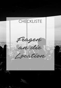 """Die Suche nach der Hochzeitslocation entwickelt sich oft zu einer zeitaufwendigen Angelegenheit. In unserer """"Checkliste für die Hochzeitslocation"""" haben wir alle wichtigen Fragen gesammelt. #hochzeit #heiraten #wedding #weddings #love #location #planung #projekte #checkliste #vorlagen #weddinglocation"""