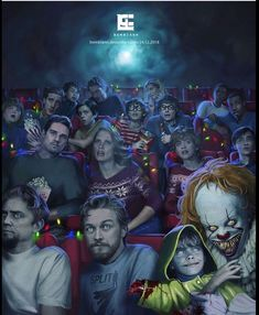 Is that your favorite? -Uh-huh -Mine too! Scary Movies, Stephen King, Horror Fans, Funny Horror, Horror Movie Icons, It The Clown Movie, Horror Movie Characters, Pennywise The Dancing Clown, Good Movies