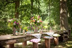 A Colourful Styled Woodland Shoot – Glamping Country Estate (Yorkshire)