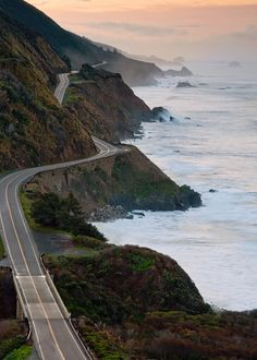 Big Sur- This drive is insanely beautiful...and kind of scary!