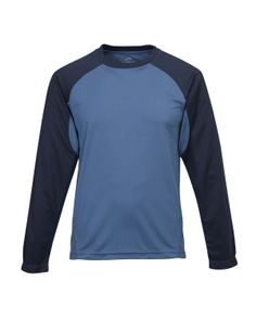 Men's Knit Shirts (100% Polyester)  Tri mountain 634 #knit #Polyester #LongSleeve