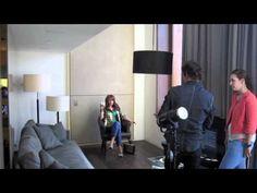Backstage Grazia shoot met Leontien Borsato