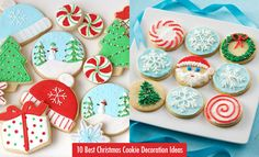 Christmas Cookie Decoration Ideas : No more plain cookies. You can let your imagination fly and have awesome Christmas decorations ideas for your cookies. For more Christmas decoration ideas you can g