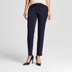 Women's Bi-Stretch Twill Skinny Classic Federal Blue 14 Short - Merona