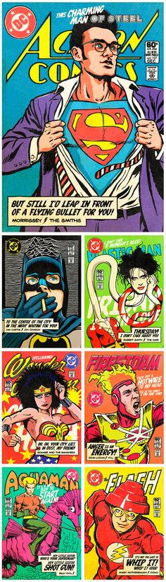 The Post-Punk / New Wave Super Friends by Butcher Billy
