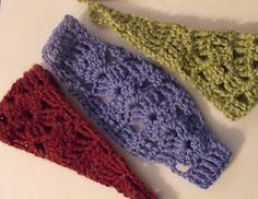 Andromeda's Fibers Studios: Easy Shell Headband Pattern ✭Teresa Restegui http://www.pinterest.com/teretegui/ ✭