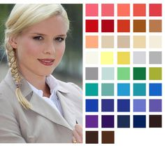 Wearing Colour To Work: Spring Colour Pallette