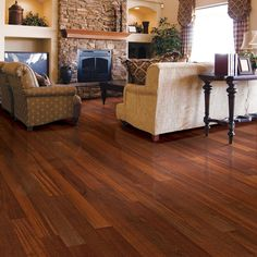 Home Legend Brazilian Cherry 3/8 in. T x 3-5/8 in. W x Varying Length Click Lock Exotic Hardwood Flooring (23.96 sq. ft. / case)-HL505H - The Home Depot