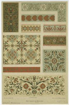 From Dekorative Vorbilder : eine Sammlung von figürlichen Darstellungen und kunstgewerblichen Verzierungen. (Stuttgart : Julius Hoffman, 1889-1928)