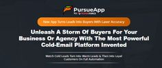 PursueApp System Review + OTO - by Cyril Jeet - Brand New Elite System App That That Contains Cold Email Marketing Agency Rights And Commercial License That Help You To Create Highly Personalized Cold Email Campaigns That Turn Leads Into Buyers And Help Local Businesses Automate Their Sales With Cold-Email Marketing & Build a Powerful Recurring Income In Just Three Easy Step Email Marketing Agency, Cold Email, Target Customer, Email Campaign, Email Templates, Commercial, App, Create, Business