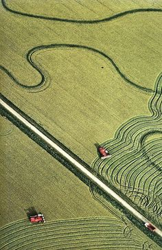 Rice fields on the Gulf Coast in Texas National Geographic | April 1980