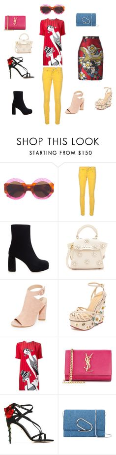 """""""it's my Style"""" by emmamegan-5678 ❤ liked on Polyvore featuring Gucci, M Missoni, Miu Miu, ZAC Zac Posen, Kendall + Kylie, Charlotte Olympia, Holly Fulton, Yves Saint Laurent, Dolce&Gabbana and 3.1 Phillip Lim"""