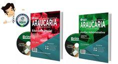 Compre agora sua Apostila preparatoria do Concurso Prefeitura de Araucária /PR 2016, para os cargos de Auxiliar Administrativo e Educador Social, e conquiste sua aprovação!