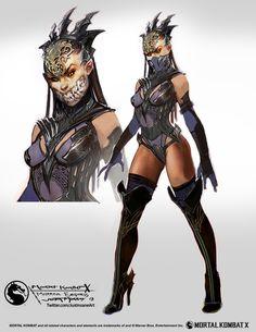 Mileena Empress concept art - Mortal Kombat X