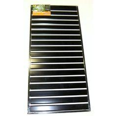 Protector Aluminium Easy Screen Slat Panel 810x1720mm Black