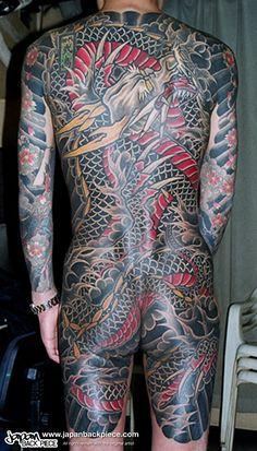 4ed40bb2c5 Japanese back piece tattoo art
