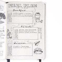 I'm more productive if I plan certain tasks, such as meal planning, outside of my bullet journal. Click through to find out what I do instead!