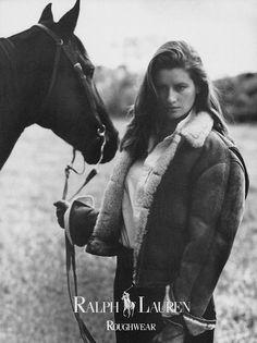 Ralph Lauren 1986Model: Isabelle Townsend