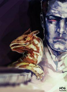 """Hey my friend has made a drawing of Grand Admiral Thrawn. Star Wars Rpg, Star Wars Rebels, Star Trek, Thrawn Trilogy, Darth Bane, Edge Of The Empire, Admiral Ackbar, Grand Admiral Thrawn, Art Society"