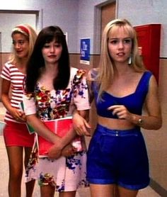 Snobby, blonde-haired, BMW-driving prima donna Kelly Taylor was at the top of West Beverly High's most popular list.