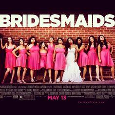 """Bridesmaids"" photo idea to go along with the movie wedding theme."
