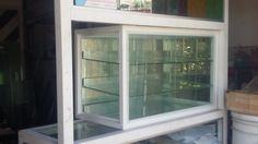 Como hacer una vitrina de aluminio 1