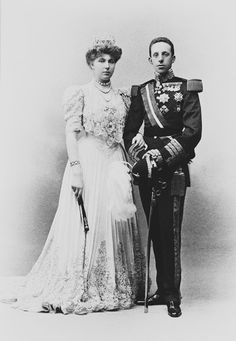King Alfonso XIII and Queen Victoria Eugenie | Royal Collection Trust