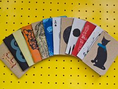 customised notebooks, great concept. I'm sure I'd be more creative.