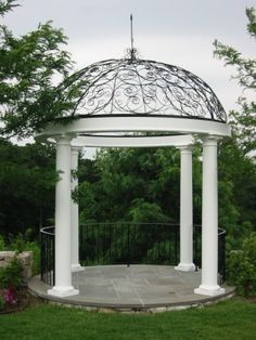 Gazebo, simple, yet elegant.