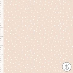 Nude Pink Triangles by Elvelyckan Design - Euro Designer  Knit - Organic Cotton Knit