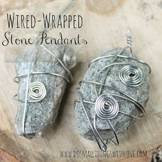 22 DIY Necklace Pendants - Do Small Things with Love