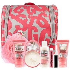 Gifts that Ship Free: Soap & Glory Shower Trip Set - $36 #Sephora #GiftIdeas #Holiday #GiftExtraordinary