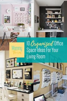 Smart Ways To Decorate Your Home Office - Home Office Decor Ideas for Living Room Office - Organized Home Office Home Office Organization, Home Office Decor, Clutter Organization, Small Space Organization, Office Ideas, Home Decor, Declutter Your Home, Organizing Your Home, Organization Ideas