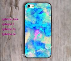 Green Watercolor  iPhone 4 Case Watercolor iPhone 4 by charmcover, $7.99