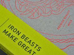 beauty of letterpress by Studio on Fire