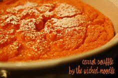 Carrot soufle