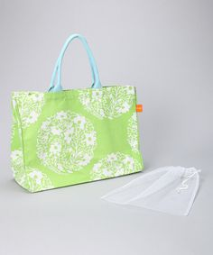 Take a look at this Mandala Nob Hill Tote & Large Produce Bag Set by Bring It on #zulily today!