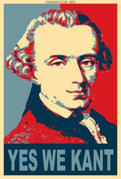 .Yes we Kant