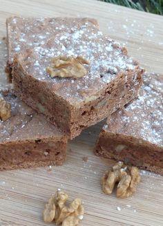 Amerikanische Walnuss Brownies (Walnut Brownies). Infos dazu, warum ich die so mag und das Rezept gibt's auf barbaras-spielwiese.blogspot.de