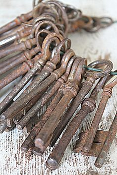 Old keys,... my daddy's house.