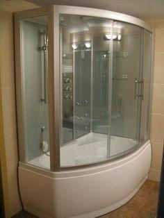 ✔ 36 cool tiny house bathroom shower with tub ideas 18 Whirlpool Bathtub, Bathtub Shower Combo, House Bathroom, Shower Stall, Tiny House Bathroom, Refinish Bathtub, Bathroom Shower, Bathrooms Remodel, Bathtub