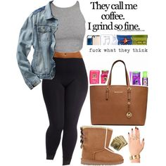 Designer Clothes, Shoes & Bags for Women Cute Swag Outfits, Dope Outfits, Casual Outfits, Fashion Outfits, Womens Fashion, Jogging Outfit, Classy Yet Trendy, Casual Date Nights, Outfit Goals