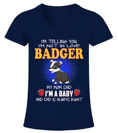 "# BADGER Animals Lover .  HOW TO ORDER:1. Select the style and color you want2. Click ""Buy it now""3. Select size and quantity4. Enter shipping and billing information5. Done! Simple as that!TIPS: Buy 2 or more to save shipping cost!This is printable if you purchase only one piece. so don't worry, you will get yours.Guaranteed safe and secure checkout via: Paypal 