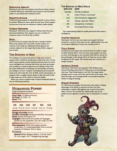 """vallonde-laid-bare: """" Hey everyone, I'm not dead after all! I've just been busy…working on this. What a ridiculous mess I've made. This is very rough draft, version so keep that in mind. Dungeons And Dragons Rules, Dungeons And Dragons Homebrew, Fantasy Costco, Dnd Stats, Dnd Races, Dnd Classes, Dungeon Master's Guide, Dnd 5e Homebrew, Dnd Monsters"""